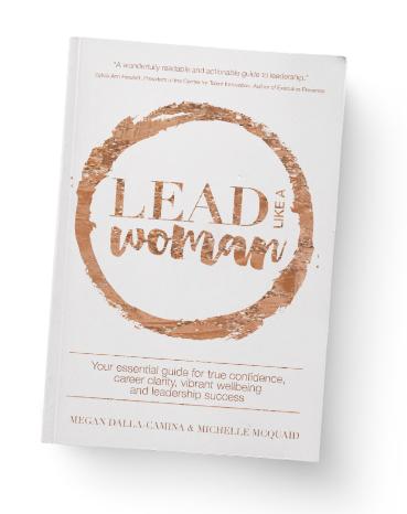 Michelle McQuaid Lead Like a Woman Book
