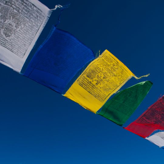 tibetan-flags-flying