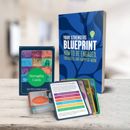 Your strengths blueprint michelle mcquaid strengths book cards bundle malvernweather Image collections